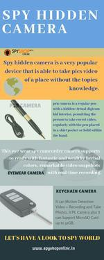 Latest smallest spy hidden camera