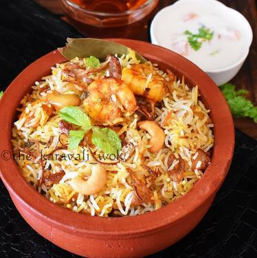 ArRahman Prawn Biriyani and prawn fry Rs1200 per kg