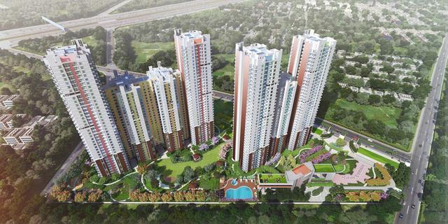 Hero homes 3bhk apartments in 1359 sqft 8448000 rs
