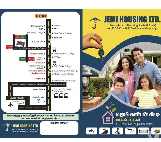 Dtcp land for sale in garden city,fathima nagar