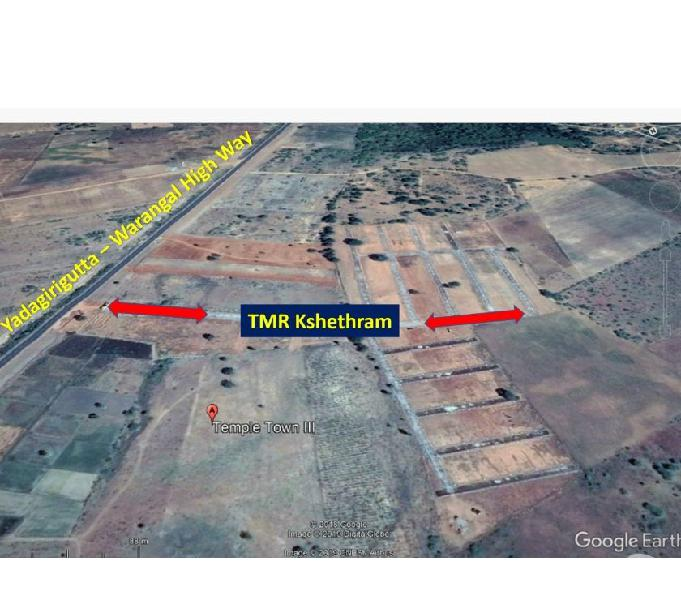 Open plots in yadagirigutta
