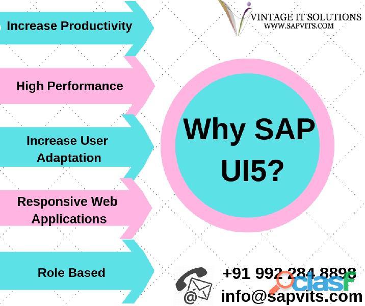 Sap ui5 online training courses in india, hyderabad, bangalore