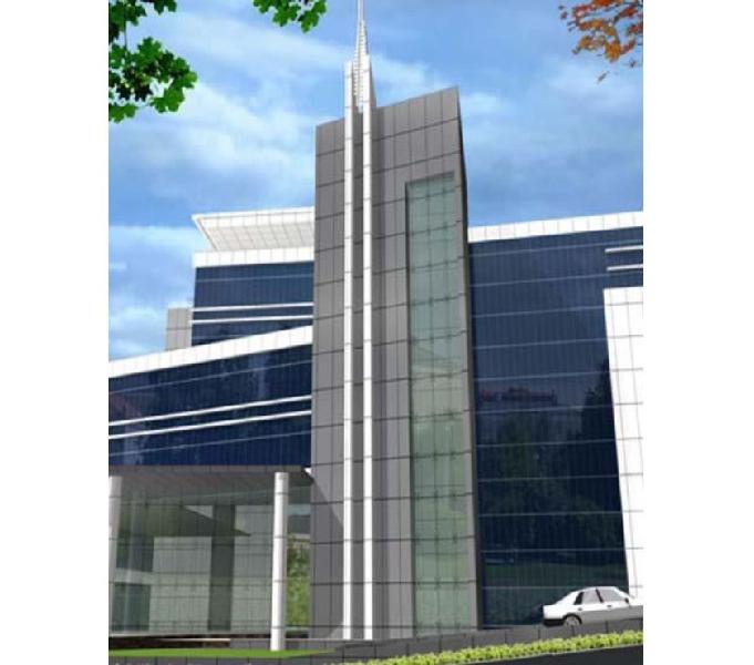Ip tower is strategically located in talawade software park,