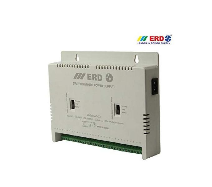 Erd ad-33 16 channel power supply for cctv cameras