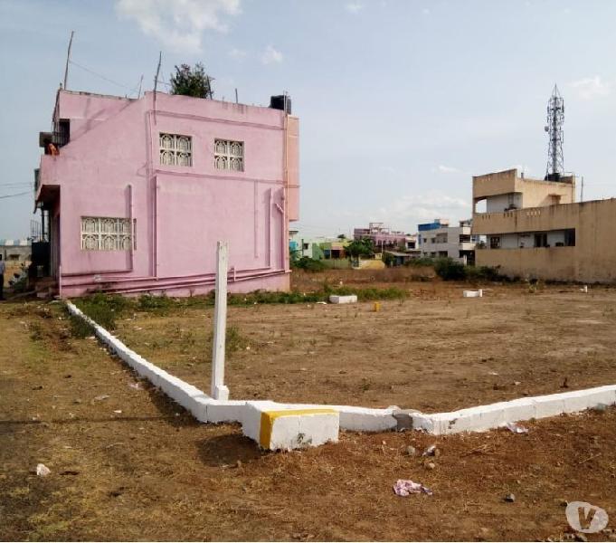 Cmda approved plots in redhills, vadagarai