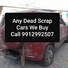 We buy any scrap cars old unused dead scrap cars