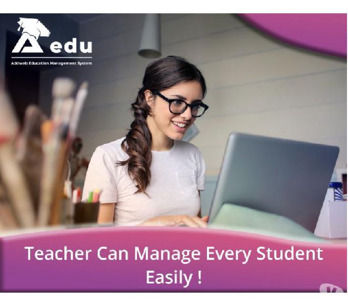 School teacher management software