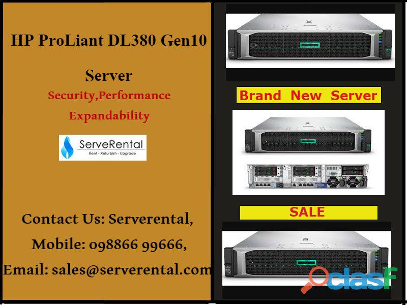 Hp proliant dl380 gen10 server| brand new hp server on sale