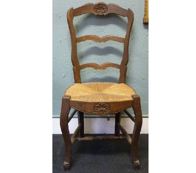 Ancient french oak chair