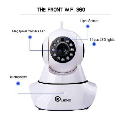 360 auto-rotating wireless cctv camera -lowest price online