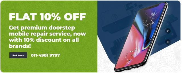 Apple iphone screen repair at doorstep in delhi ncr