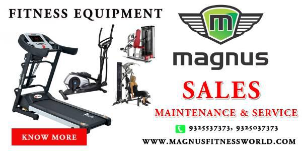 Best commercial treadmill equipment by magnus nagpur -