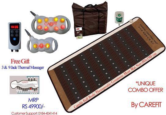 Carefit full body ceramix ceratonic heating mat