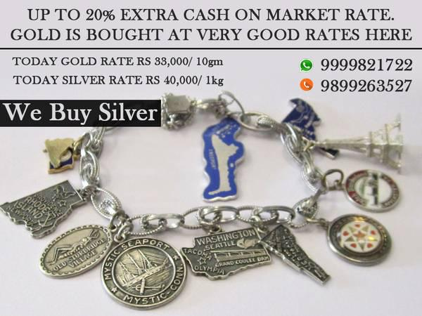 Cash for black gold jewelry for cash in rajendra place -