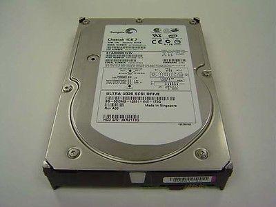 """Dc963 dell 300gb 10k rpm seagate st3300007lw 3.5"""" scsi"""