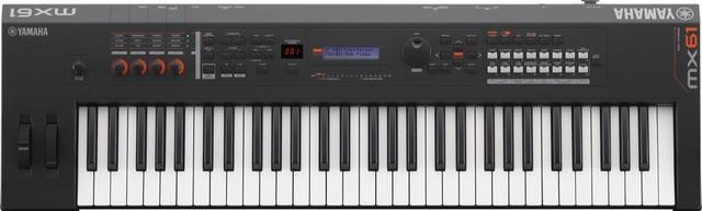 New yamaha mx61 v2 keyboard synthesizer 61key black