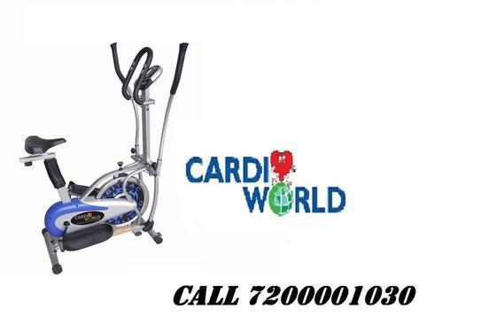 Orbitrack exercise bike using weight 130 kg