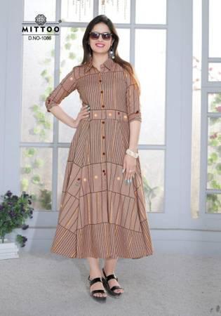 Mittoo belt vol3 kurtis catalog at wholesale fabric: 14 kg
