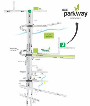 Live with extravagant facilities in ace parkway -