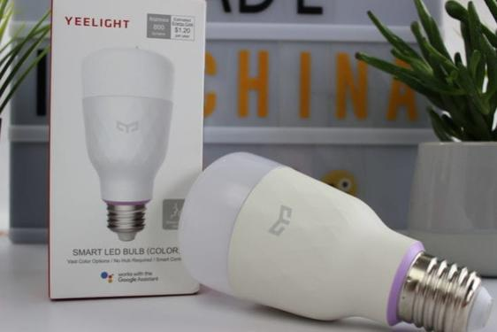 Xiaomi yeelight smart led bulb time to live smart