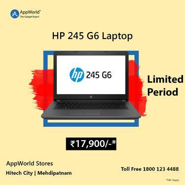 Hp laptop limited offer appworld 18001234488