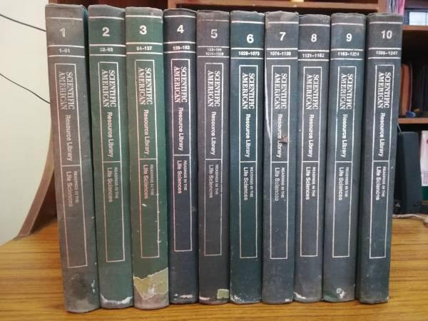 Scientific american off prints volumes in life sciences -