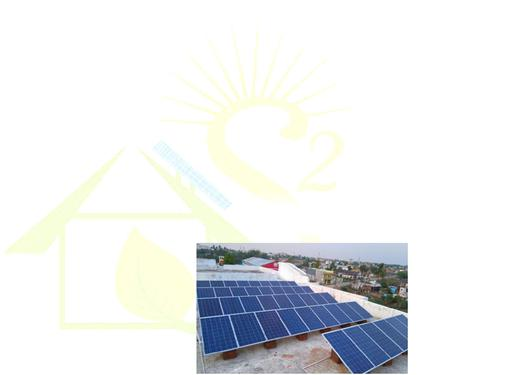 Solar power installation from 1kw to 1 mw scale
