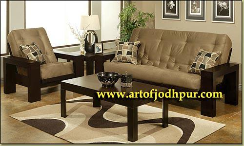 Sofa sets solid wood furniture