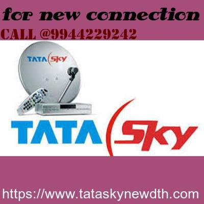 Tata sky new connection and dish - business/commercial - by