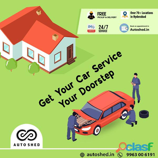 Car and bike repair service center in gachibowli, hitech city, hyderabad   autoshed