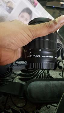 Brand new canon eos d500 camera with progressive lens