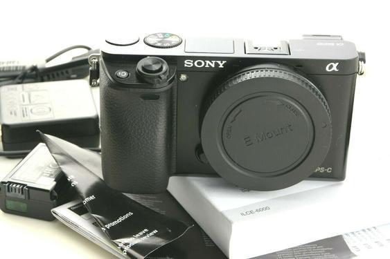 Sony alpha ilce6000 243mp digital camera body