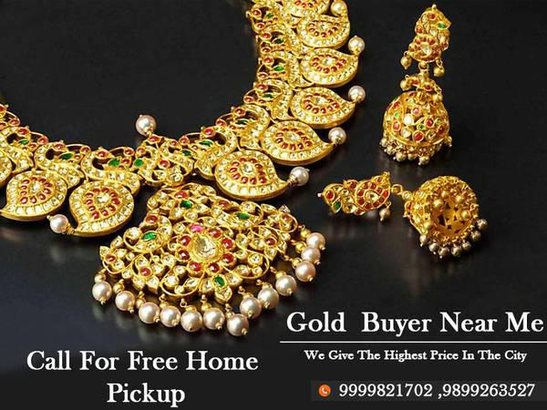 Sell scrap gold near me - jewelry - by dealer