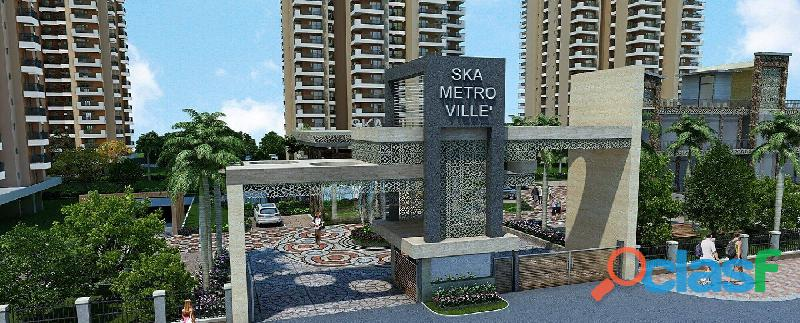 Apartments for sale in ska metro ville at greater noida