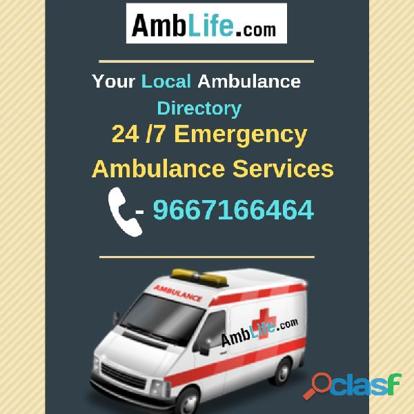 Top Notch Ambulance B2B Directory in India!