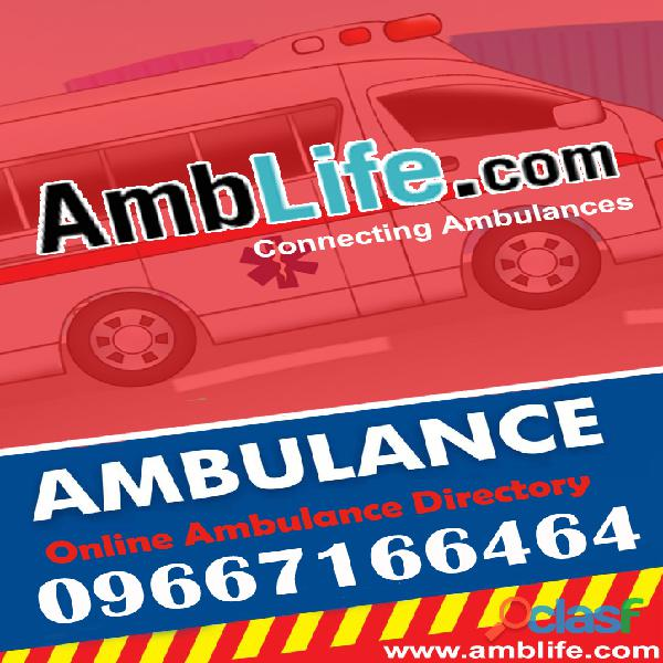 Top Notch Ambulance B2B Directory in India! 1