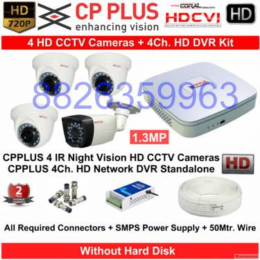 Cctv cameras upto 25 off on top brands cp plus hikvision