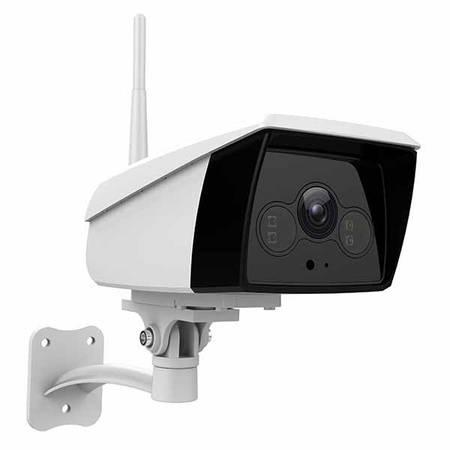 Wireless waterproof smart ip camera with led flood light -