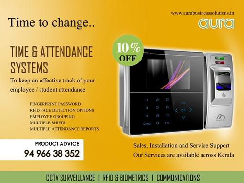 Biometric time and attendance system attendance system