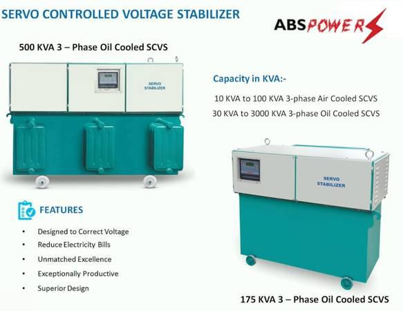 Affordable Servo Stabilizer Manufacture in Chandigarh -