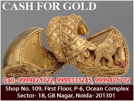 Cash for gold in gurgaon - jewelry - by dealer