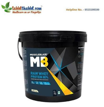 Muscleblaze raw whey protein at flat 25% off online -