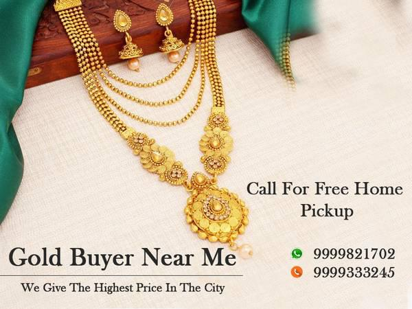 Sell your scrap gold - jewelry - by dealer