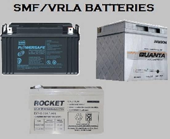 Vrla/smf batteries, ups batteries at best prices -