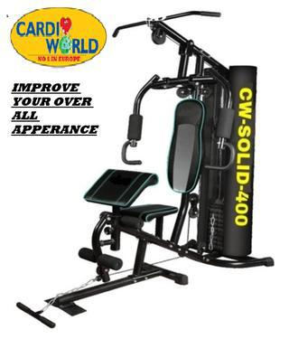 Cardio world Homegym with Free Delivery