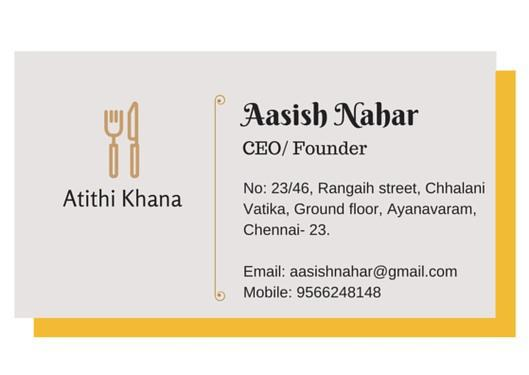 Daily tiffin based home delivery
