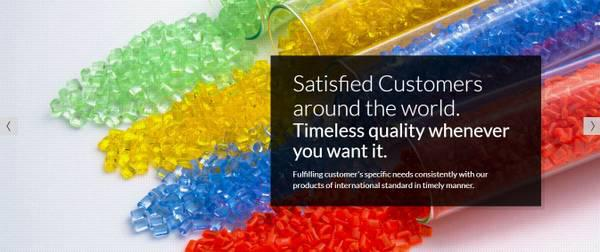 Top exporter of colour masterbatches and additives in India