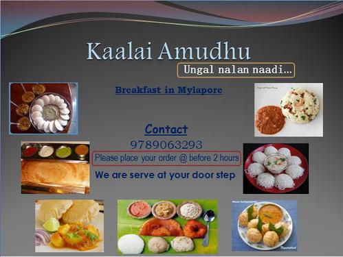 Home based food for elders, children & bachelors