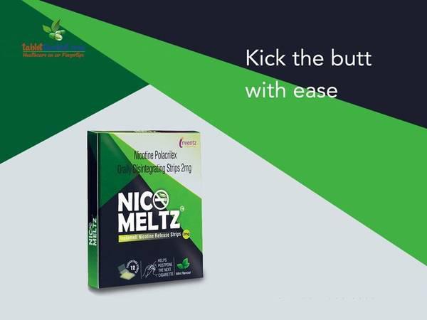 Nicomeltz, Buy Nicomeltz Anti Smoking Strips Online in India