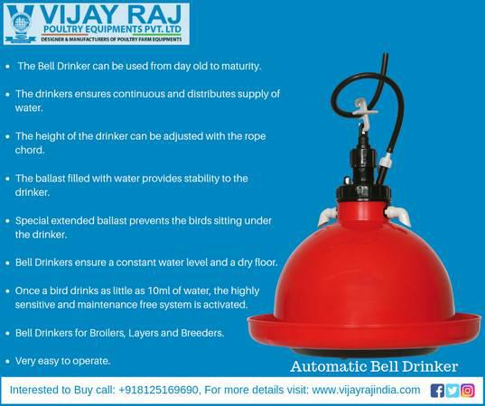 Vijay raj manufactures, & supplies a quality range of  bell